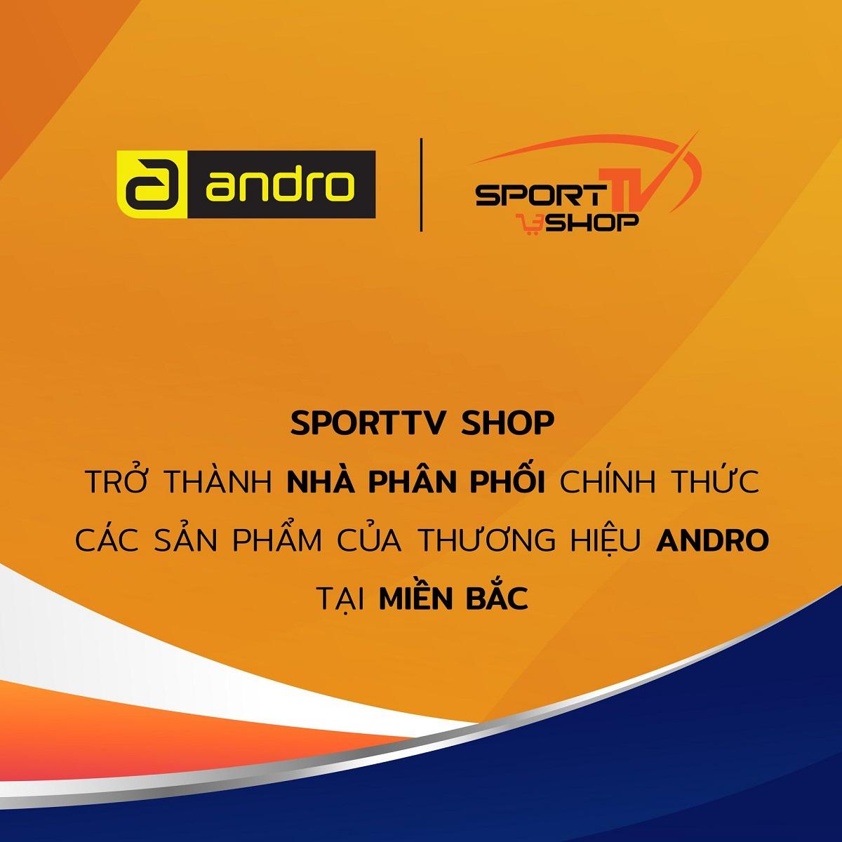 SportTV trở thành Nhà Phân phối chính thức sản phẩm bóng bàn thương hiệu Andro thị trường phía Bắc, Việt Nam